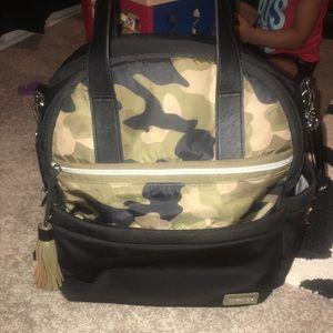 Skip hop neoprene camp backpack diaper bag